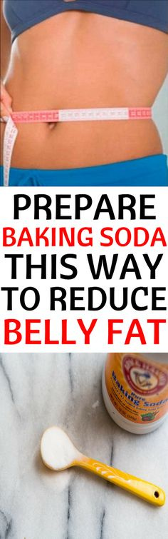Baking soda can actually help you reduce belly fat if you prepare it our way.