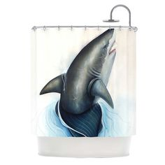 Shower Curtain Lucid by Graham Curran by KessInHouse on Etsy, $59.00