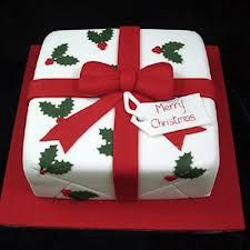 christmas cakes designs - Google Search