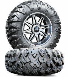 MSA M26 Vibe Dark Tint Wheels EFX MotoClaw Tires