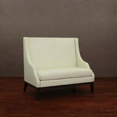 @Overstock - Bring sophistication and class to your living room with the Lummi white leather high-back loveseat. This furniture piece is constructed of wood and dyed top grain aniline leather.http://www.overstock.com/Home-Garden/Lummi-White-Leather-High-Back-Loveseat/4470819/product.html?CID=214117 $406.79