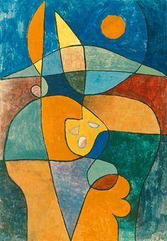 Paul Klee - Jardin de paysan dans la personne en 1933 L.13