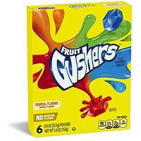 Fruit Gushers Variety Pack, 6 Count
