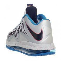 "Nike Air Max LeBron X Low ""Metallic Platinum"""