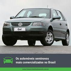 O Volkswagen Gol perdeu a liderança de vendas no Brasil entre os modelos 0 km, mas ainda é o primeiro no ranking dos seminovos!  Acesse a matéria e conheças os mais vendidos do país: https://www.consorciodeautomoveis.com.br/noticias/os-carros-seminovos-mais-vendidos-no-brasil?idcampanha=206&utm_source=Pinterest&utm_medium=Perfil&utm_campaign=redessociais