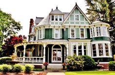9 Wild, Whimsical, Completely Over-the-Top Victorian Houses for Sale  - CountryLiving.com