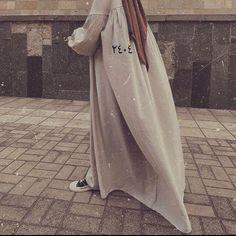 Niqab Fashion, Modern Hijab Fashion, Islamic Fashion, Muslim Fashion, All Fashion, Korean Fashion, Fashion Dresses, Hijabi Girl, Girl Hijab