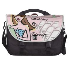 Wedding Planner Laptop Bag