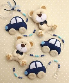 Chisu Raluca's media content and analytics Baby Crafts, Felt Crafts, Diy And Crafts, Felt Mobile, Baby Mobile, Craft Projects, Sewing Projects, Diy Bebe, Felt Baby