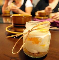 Hedelmäiset minijuustokakut (13 pilttipurkillista)