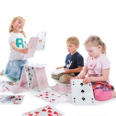 """<p><span style=""""font-size: medium;""""><strong>GIANT PLAYING CARDS 