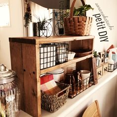 Kitchen Pantry, Kitchen Cart, Coffee Corner, Kitchen Accessories, Cupboard, Diy And Crafts, Sweet Home, Seed Bank, Shelves