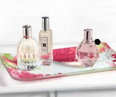 What's on your perfume tray?