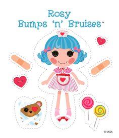 Lalaloopsy Rosy Bumps 'n' Bruises