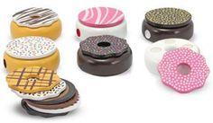 Need this set...too cute!  Wooden Doughnuts Toy   Melissa & Doug   Babytalk Store   Northport, AL