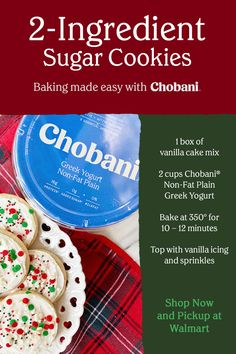 Cake Mix Recipes, Baking Recipes, Cookie Recipes, Snack Recipes, Dessert Recipes, Snacks, Cake Mix Cookies, Yummy Cookies, Sugar Cookies