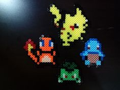 First generation perler bead by Azrael-Luchador on @DeviantArt