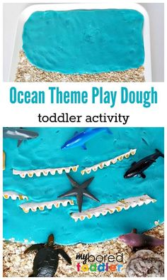 ocean play dough sen