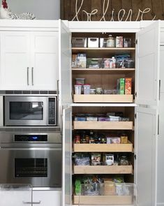 Organized Cabinet Pantry - By SO | Home Professional Organizing