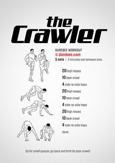 The Crawler Workout | Posted by CustomWeightLossProgram.com