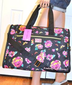 Betsey Johnson Floral Graffiti Hard Cover Luggage Set @ Marshalls | Just Perfect | Pinterest ...