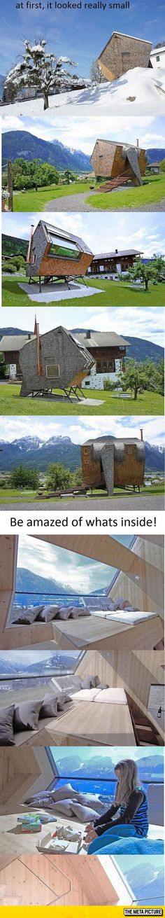 Small And Ordinary Outside, But Wait Until You See The Inside