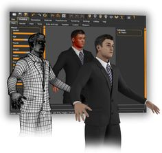 Create 3D humans for games, animation, illustrations etc with this great free software.