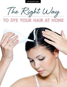 at-home hair dye