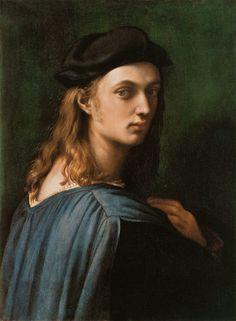 (Raphael) Raffaello Santi - Portrait of the Bindo Altoviti