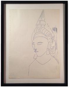 ANDY WARHOL, 1953, Bangkok Sketch at VINCE http://www.artnet.com/galleries/vince-fine-arts/ #contemporaryart #keithharing #warhol #basquiat #graphicdesign #andywarhol #artbook #artgallery #paddle8 #sothebys #artconsultant #artcontemporain #art #1stdibs #fashion #painting #jerrysaltz #performanceArt #philosophy #popcultire #sculpture #schnabel #nytimesarts
