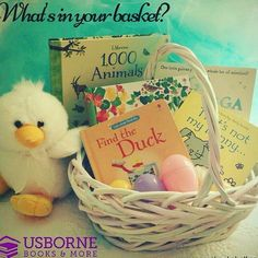 Easter is coming! Fill their basket with books (and a little candy).