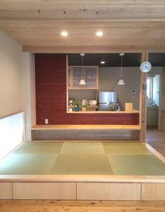 たった3畳の畳スペースが想像以上に大活躍!【丁寧な暮らしを楽しむ木の家つくり】 | Sumai 日刊住まい Japanese Interior Design, Japanese Home Decor, Japanese House, Small Rooms, Small Apartments, Tatami Room, Asian House, Moving House, Beautiful Living Rooms