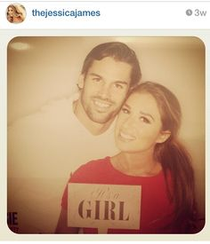 Eric & Jessie James Decker... that is going to be a cute ass kid