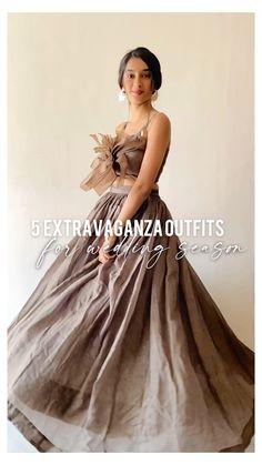 Party Wear Indian Dresses, Designer Party Wear Dresses, Indian Fashion Dresses, Dress Indian Style, Indian Designer Outfits, Stylish Dress Designs, Designs For Dresses, Stylish Dresses, Traditional Dresses
