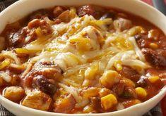 Tous les détails à l'intérieur. Soup, Chile Recipe, Healthy Slow Cooker, World Cuisine, Mom, Chicken, Food, Recipes, Soups