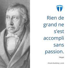 Rien de grand ne s'est accompli sans passion. - Hegel Pour aller plus loin : https://fr.tkltradingschool.com/guide-gratuit-tkllfa-libertefinanciere-fb #tkl #tkllfa #thamikabbaj