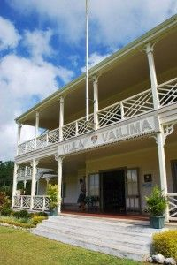 Vailima, Robert Louis Stevenson's home in Samoa. This was simply amazing!!