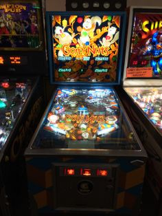 """This is number three of only ten """"Goin' Nuts"""" pinball machines ever built.  At the Pinball Hall of Fame, Las Vegas, NV"""