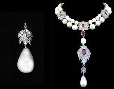 Kaia Joyas: La gran Perla La Peregrina, la mejor perla natural que hay en el mundo. Detalle