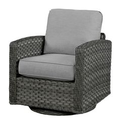 Found it at Wayfair - Swivel Glider Chair with Cushion