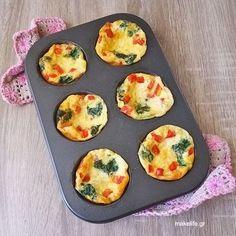 Ομελέτα Φούρνου Brunch, Eggs, Healthy Recipes, Cooking, Breakfast, Food, Greek, Party, Cucina