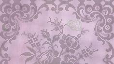 copriletto filet | Hobby lavori femminili - ricamo - uncinetto - maglia