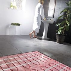 Is underfloor heating really all it's cracked up to be? BestHeating looks to explain all the good, and some of the bad, about all things underfloor heating. Electric Underfloor Heating Mat, Underfloor Heating Systems, Hydronic Heating, Solid Brick, Brick And Wood, Open Plan Bathrooms, Roof Insulation, Types Of Rooms, Wet Rooms