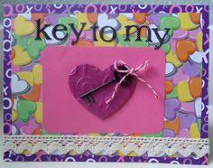 Scrapbook Layouts, Creative Inspiration, Painting Inspiration, Twine, Embellishments, Sparkle, Clock, Key, Tags