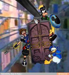 Kingdom Hearts & Monsters Inc.
