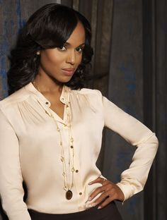 Olivia Pope's style strategy