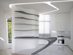 d'Leedon Singapore - Architecture - Zaha Hadid Architects Singapore Architecture, Zaha Hadid Architecture, Interior Design Singapore, Interior Architecture, Minimalist Architecture, Futuristic Architecture, Futuristic Interior, Futuristic Furniture, Futuristic Design