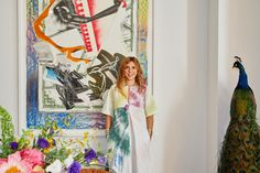 Inside Jewelry Designer Jesse Marlo Lazowski's Home. But, like we said, there's nothing quite like the unexpected surprise of walking into a space filled with nomadic tchotchkes, lucite Platner chairs from the '70s, Hermès tableware, and original Polaroids of Madonna by Mary Pole, a personal friend of Lazowski's (just to name a few), to get us going. | Coveteur.com