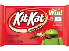 La marca de chocolates llegó a un acuerdo con Google para darle vida al nuevo sistema operativo. ¡Una delicia!