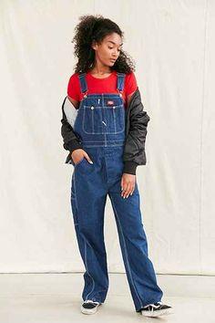 Vintage Dickies 90's Dark Wash Overall